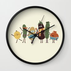Costume Party Wall Clock