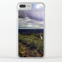 Svartifoss Trail, Skaftafell, Vatnajökull National Park, Iceland Clear iPhone Case