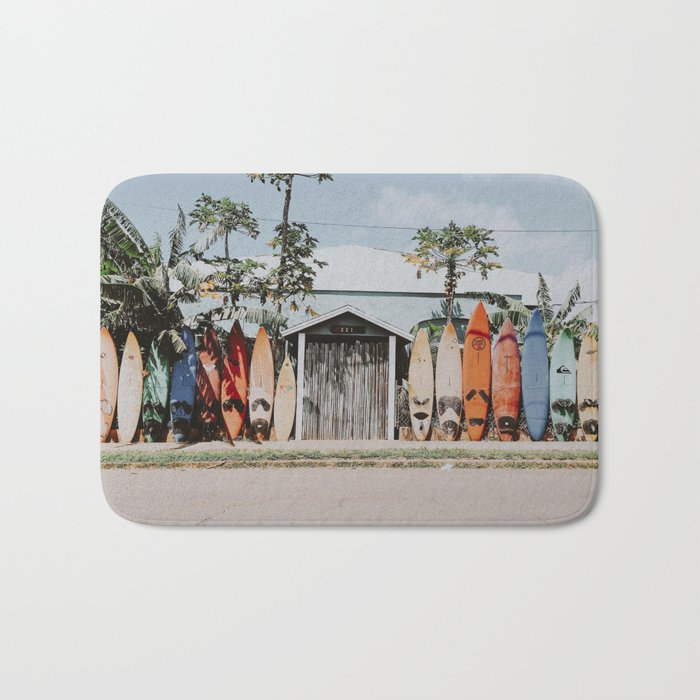 lets surf vi / maui, hawaii Bath Mat