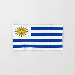 flag of Uruguay-Uruguyan,montevideo,spanish,america,latine,Salto,south america,paysandu,costa,sun,be Hand & Bath Towel