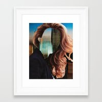 sin city Framed Art Prints featuring Sin City by Imogen Art
