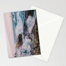 Stormy Winter Sunset Stationery Cards