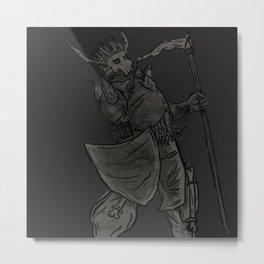Carrion King Shirt Metal Print
