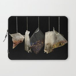 Teabags Hanging in the Air Laptop Sleeve