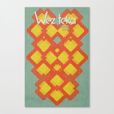 Mitchati Hearts  - Wezteka Union Canvas Print