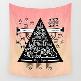 Be amazing Wall Tapestry