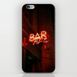 BAR (Color) iPhone Skin