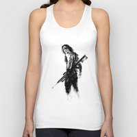 winter soldier Tank Tops featuring Winter Soldier by Mari Vasilescu