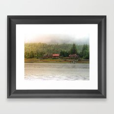 Sunlight in the Dark Framed Art Print
