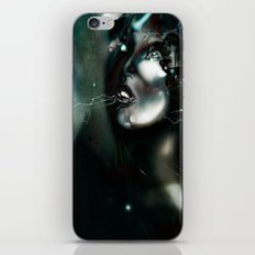 Illustration Art Robot iPhone & iPod Skin
