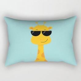 Cool Giraffe Rectangular Pillow