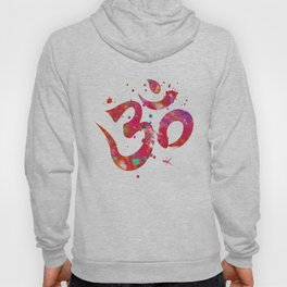 Colorful Om Symbol Hoody