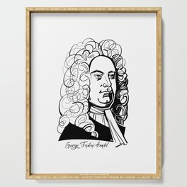 George Frideric Handel Serving Tray