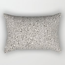 Moon Rock Concrete Block Rectangular Pillow