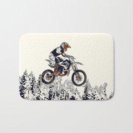 """""""High Flyer"""" Motocross Racer Bath Mat"""
