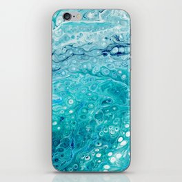 The shape of the water iPhone Skin