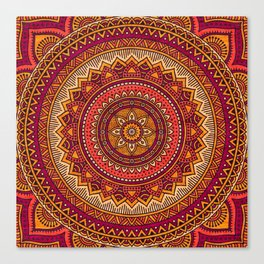 Hippie mandala 33 Canvas Print