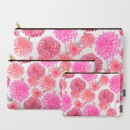 Dahlias in bloom Carry-All Pouch