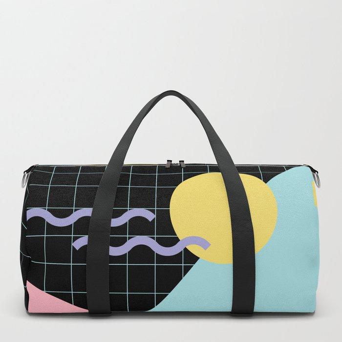 Memphis Pattern 7 - 80s - 90s - Retro Duffle Bag