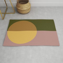 Color Block Abstract IX Rug