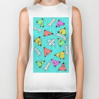 triangle Biker Tanks featuring Triangle by Jimmy Kid