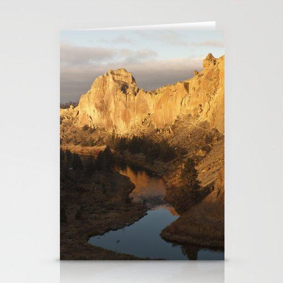 Smith Rock Sunrise I Stationery Cards