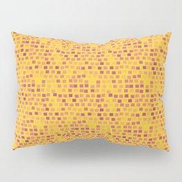 motif jaune 4 Pillow Sham