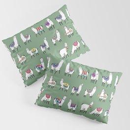 Llama Love Pillow Sham