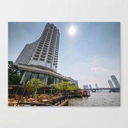 Shangri-La Hotel, Bangkok, Thailand Canvas Print