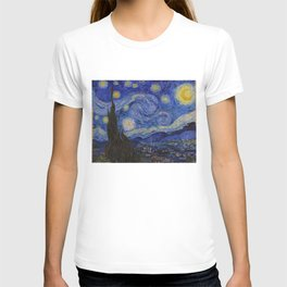 The Starry Night by Vincent van Gogh (1889) T-shirt