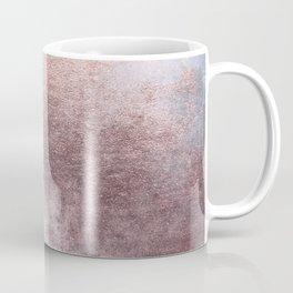 Princess Retro Rose Gold Blush Coffee Mug