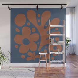Abstraction_Floral_Pattern_Art_Minimalism_001 Wall Mural