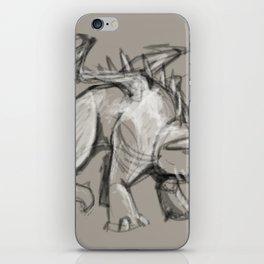 Dragon Sketch iPhone Skin
