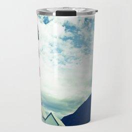 Lighthouse in norway Travel Mug