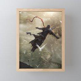 Assassin fight Framed Mini Art Print