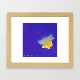 Dance of the Jelly Fish: Position IV Framed Art Print