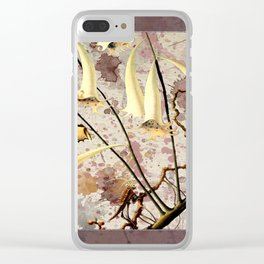Franz Sedlacek Blooms And Insects III Clear iPhone Case