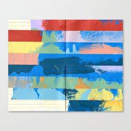 Tape Diary 12 Canvas Print