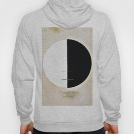 Hilma af Klint - Buddha's Standpoint in the Earthly Life, No. 3a, Series XI Hoody