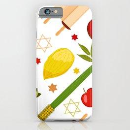 Sukkot pattern iPhone Case