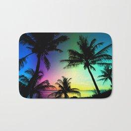 California Palm Trees Dream Bath Mat