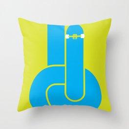 Sk8 Throw Pillow