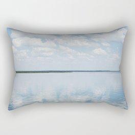 Reflections of Clouds Rectangular Pillow