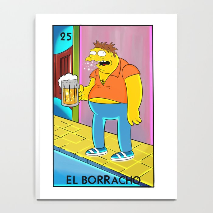 el borracho loteria notebook by selene of art society6