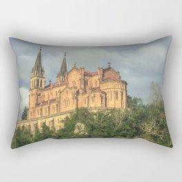 Basilica of Santa María Rectangular Pillow