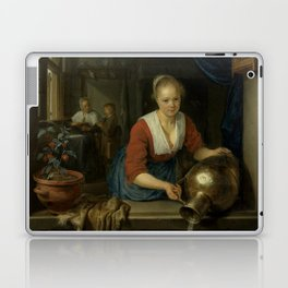 "Gerard Dou ""Maid at the Window"" Laptop & iPad Skin"