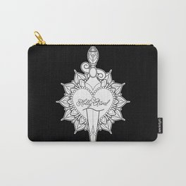 Cut Through the Heart Carry-All Pouch
