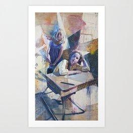 Customers Art Print
