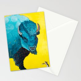 Blue Bison Little Mouse Stationery Cards