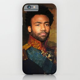 Childish Gambino Classical Regal General Painting iPhone Case